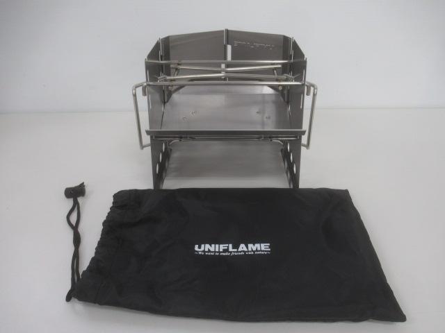 UNIFLAME(ユニフレーム) 薪グリルsolo 682999