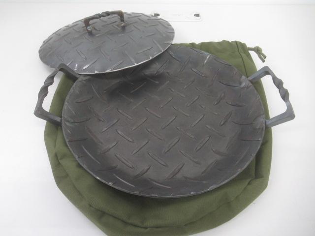 ノーブランド BLACKSMITH-HMD 縞板浅鍋 MAVRO S