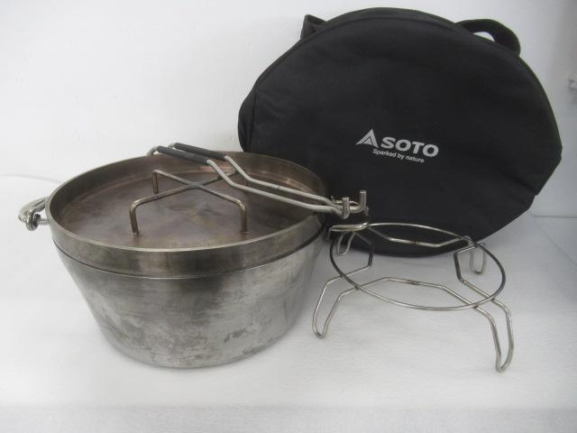 SOTO(ソト・新富士バーナー) ステンレスダッチオーブン 12インチ セット