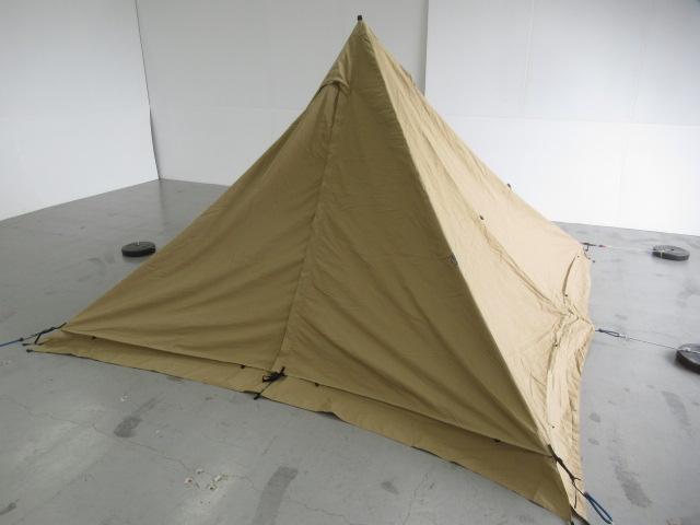 tent-Mark DESIGNS(テンマクデザイン) パンダTCプラス グランドシート スチールポールセット