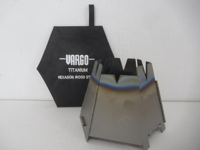 VARGO(バーゴ) チタニウム ヘキサゴンウッドストーブ