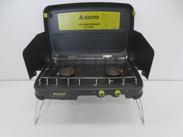 SOTO(ソト・新富士バーナー) ハイパワー2バーナー ST-525