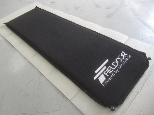 FIELDOOR(フィールドア) インフレーティングマット S 5cm ブラック