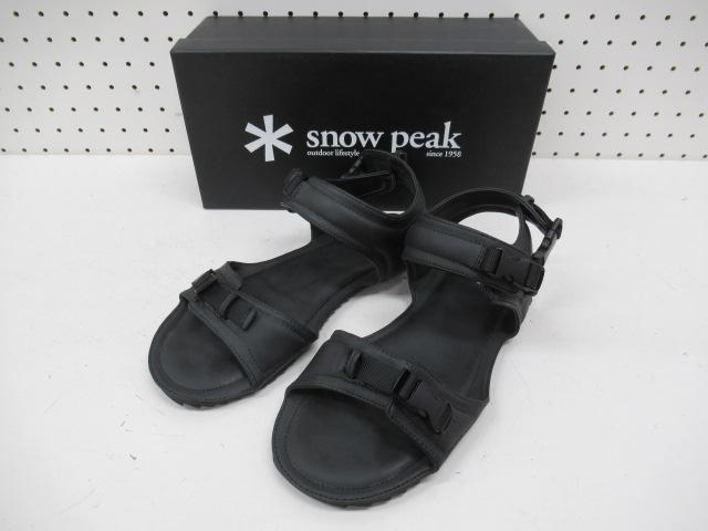 Snow Peak(スノーピーク) 2Dサンダル M ブラック