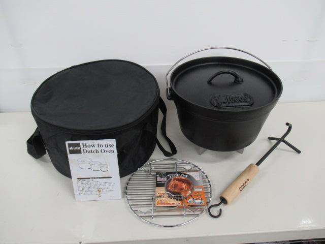 LOGOS(ロゴス) SLダッチオーブン 10インチ セット