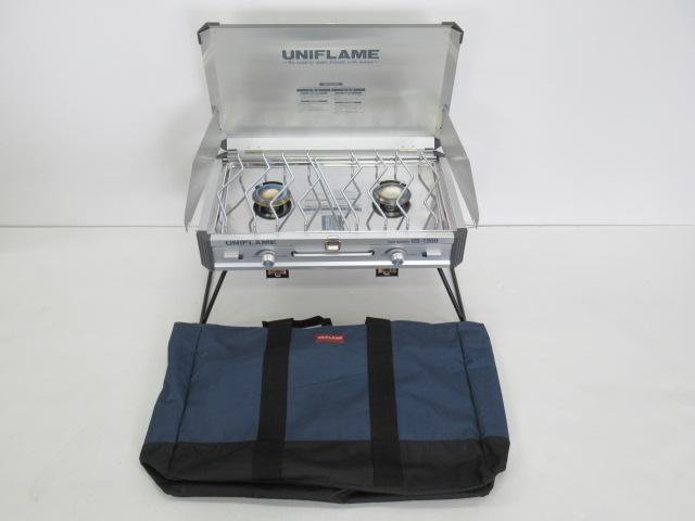 UNIFLAME(ユニフレーム) ツインバーナー US-1900 ケースセット