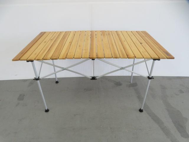 Coleman(コールマン) ナチュラルウッドロールテーブル/120