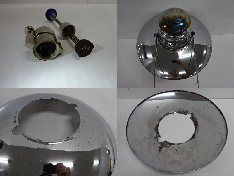 Petromax(ペトロマックス)  HK500 ニッケル リフレクターセット