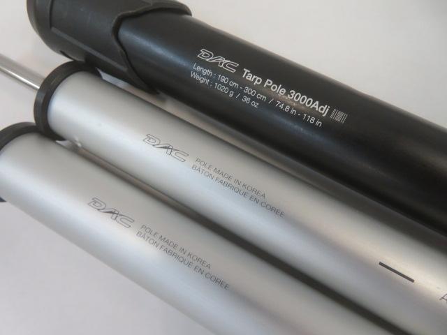 その他ブランド  DAC タープポール2.0 3000ADJ(1)