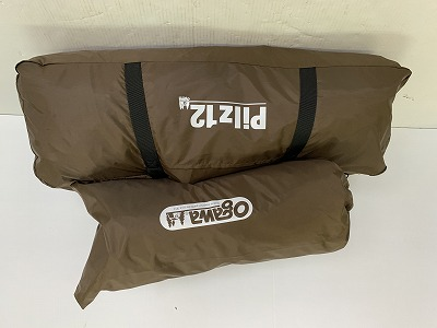 ogawa(小川・キャンパルジャパン)  ピルツ12 サンド×ブラウン ハーフインナーセット