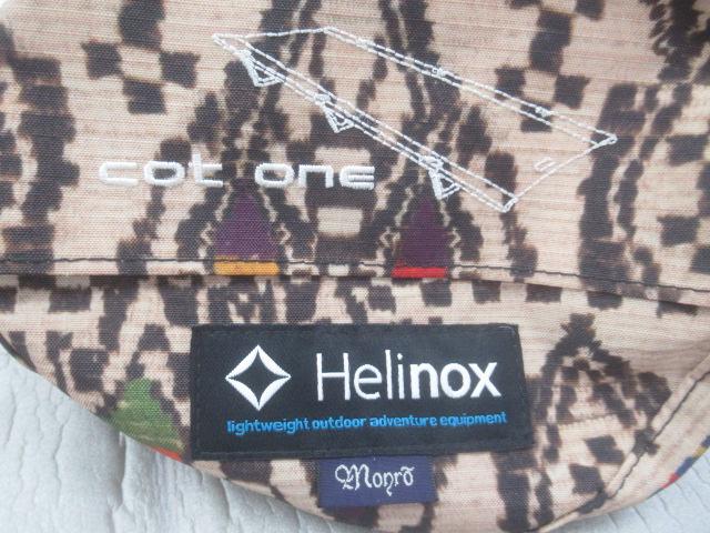 Helinox(ヘリノックス)  Monro × Helinox COT ONE SP (1)