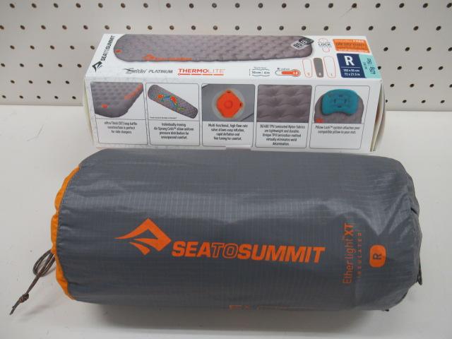 SEA TO SUMMIT(シートゥーサミット)  イーサーライトXT インサレーティッドマット レギュラー