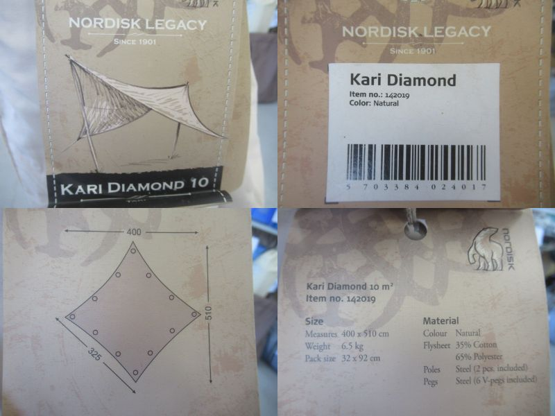 NORDISK(ノルディスク)  kari 10 Diamond